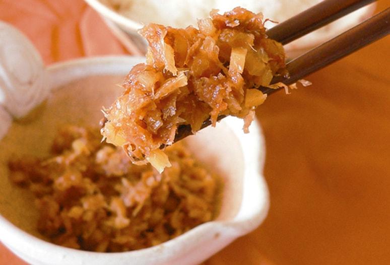 梅肉入りおかか生姜
